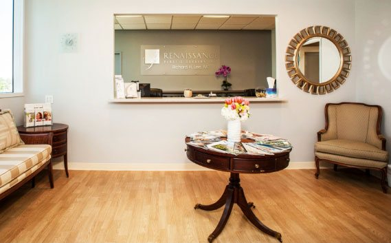 The luxurious office of Renaissance Plastic Surgery