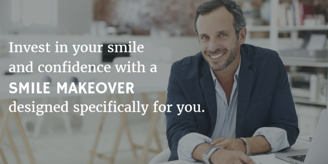 image explaining benefits of a smile makeover