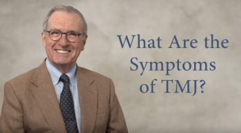 "San Antonio dentist Dr. Craig Carlson next to a title that reads ""What are the symptoms of TMJ"""