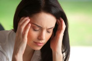 TMD symptoms can include chronic pain in head, shoulders, neck
