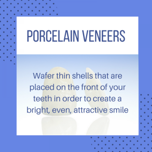 Porcelain veneers are wafer thin shells placed over the front of your teeth | Dr. Craig Carlson