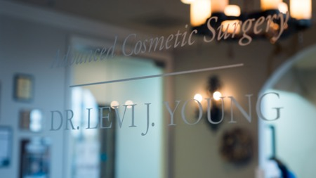 front door to Advanced Cosmetic Surgery office