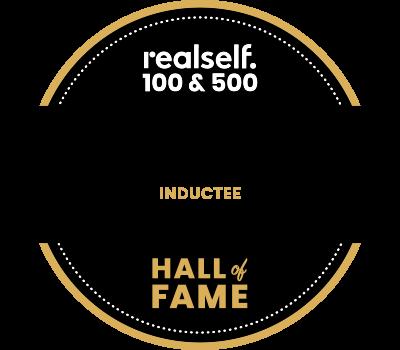 Dr. Young Realself Hall of Fame Badge