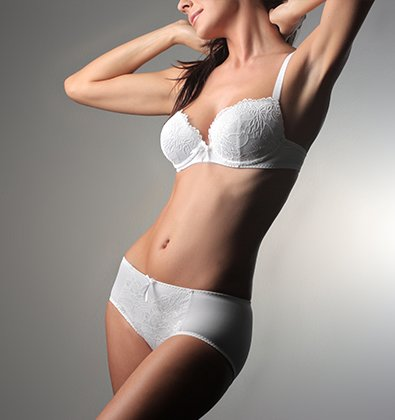 Woman's Body with a Beautifully Contoured Shape - Body Contouring Treatments