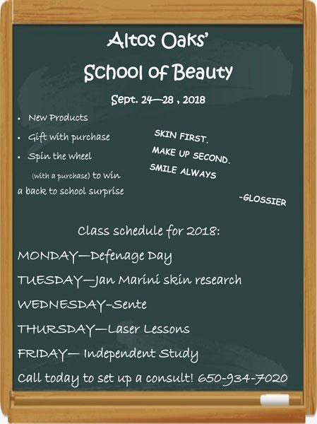School of Beauty - 2018