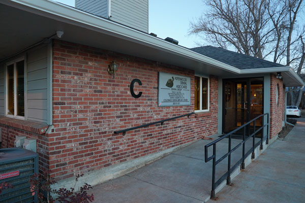 Entrace to Aspenwood Dental Associates & Colorado Dental Implant Center - Aurora, CO