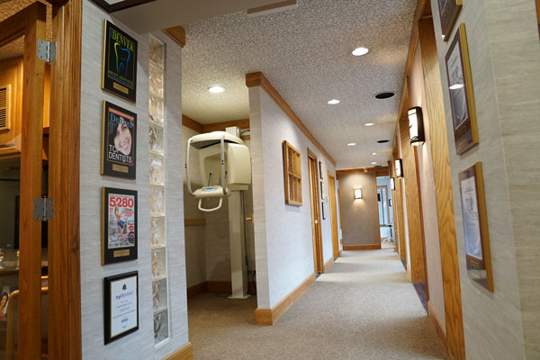 Office Hallway - Aspenwood Dental Associates - Denver, CO