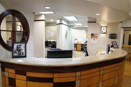 front desk at Aspenwood Dental Associates and Colorado Dental Implant Center