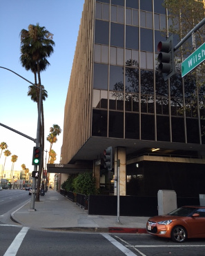 crosswalk at Wilshire Boulevard near Beverly Hills Laser Institute, Inc.