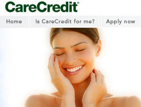 CareCredit link and logo