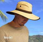 man with sunhat