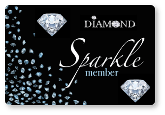 Sparkle Club Membership Card from Blair Plastic Surgery in Altoona, PA