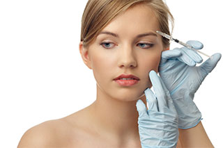 Botox treatment for female patient in Altoona and State College, PA