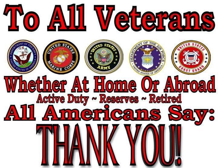 Veterans Day salute