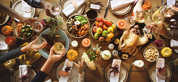 Colorado family reaches for Thanksgiving dinner in Brighton