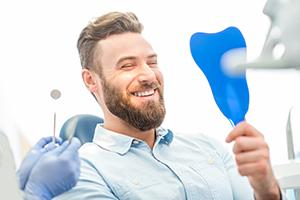 Smiling Brighton patient at Bromley Park Dental