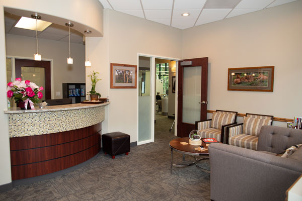 Contemporary Dental Health - Reception Area - Lake Oswego, OR