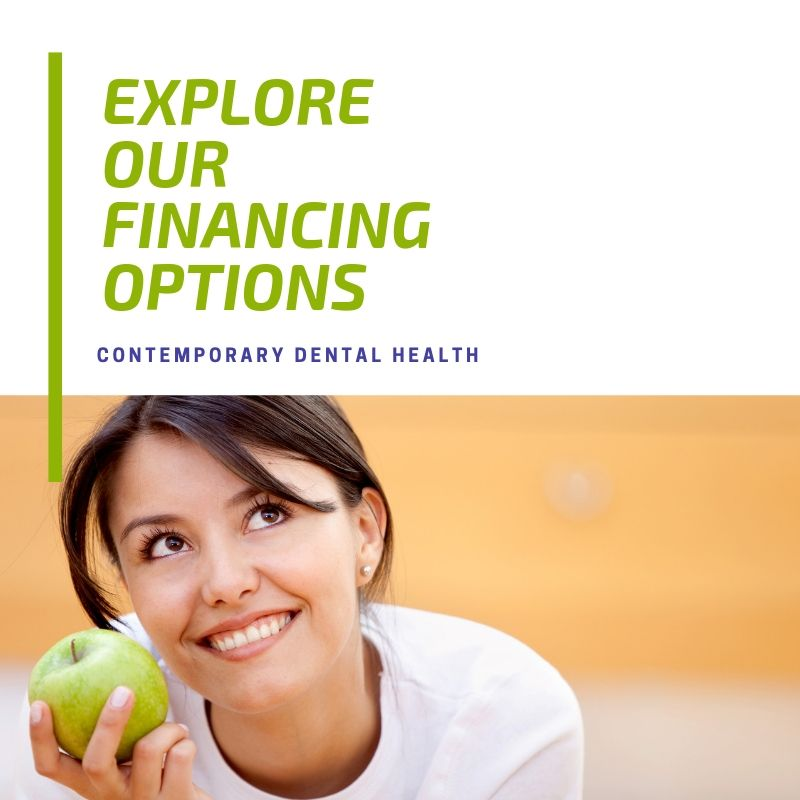 Financing options at Contemporary Dental Health