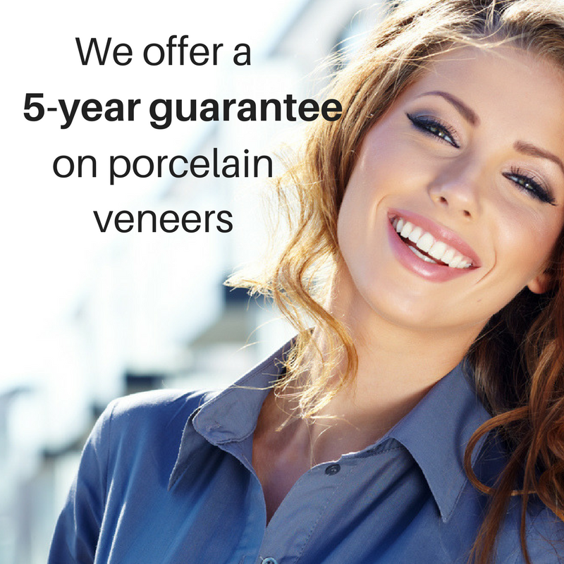 Porcelain Veneers 5-year Guarantee | Boston, MA