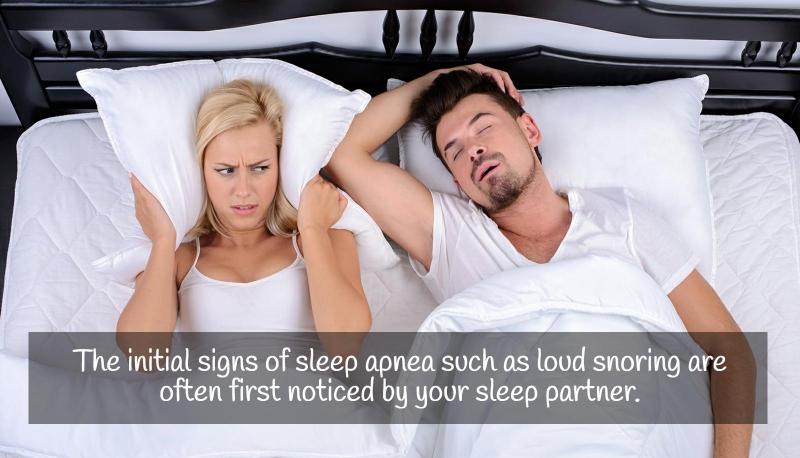 image describing the prevalance of snoring among sleep apnea patients