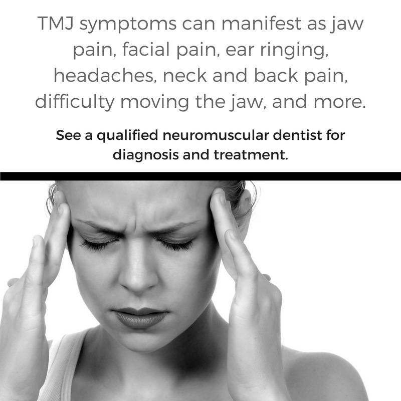 What are TMJ symptoms