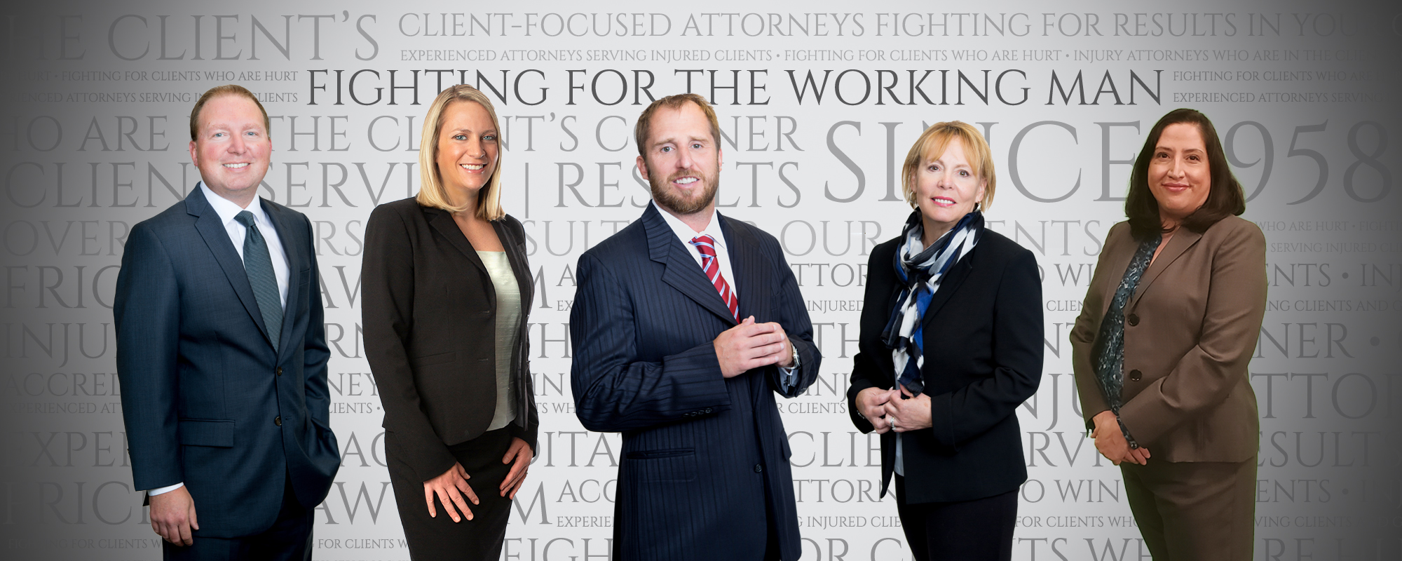 Portrait of the attorney's a The Frickey Law Firm Fighting for working Coloradans