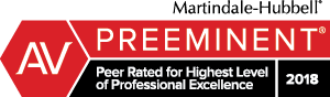 Martindale-Hubbell Preeminent rating badge