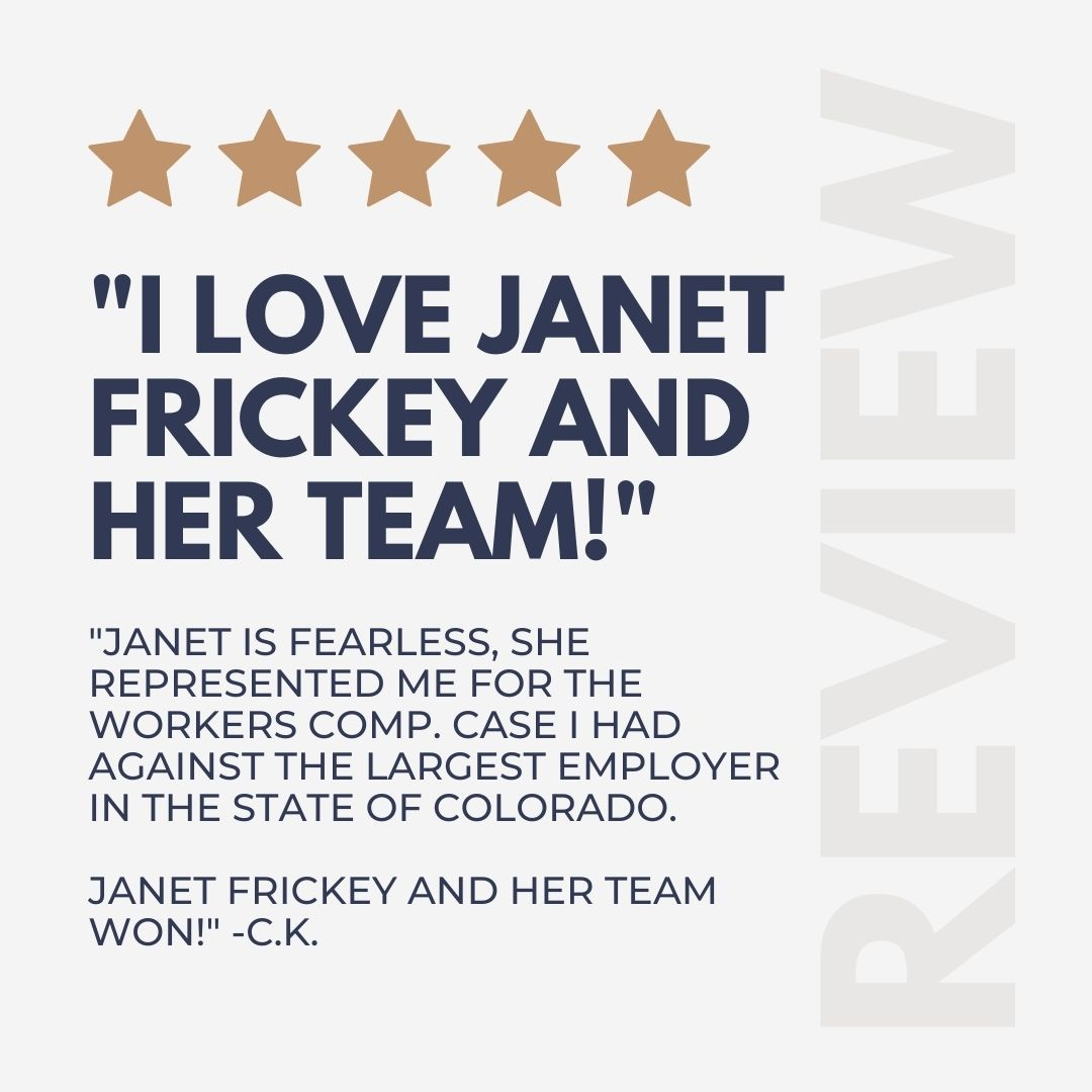 Client review | The Frickey Law Firm
