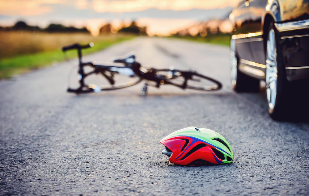 Bicycle accident in Lakewood, CO