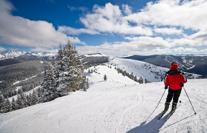 Skier in Vail | Lakewood personal injury lawyers