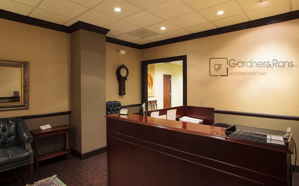 The South Bend office of Gardner & Rans - Reception