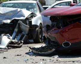 Damaged Cars from an Accident - Car Accident Attorney Near Columbus, GA