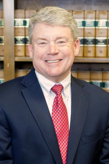 Gary Bruce, attorney and founder