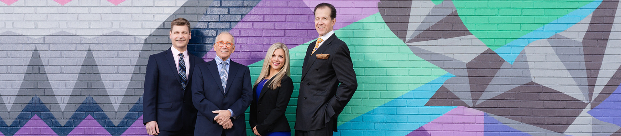 Portrait of the 4 doctors at Grossman | Capraro Plastic Surgery