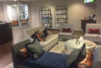 Reception Area - Grossman | Capraro Plastic Surgery - Greenwood Village