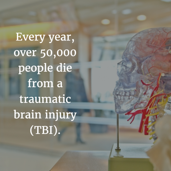 image describing the death toll of brain injuries