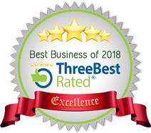 Best Business of 2018 badge - Top 3 Best Personal Injury Lawyer