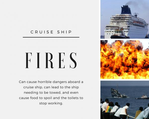 Infographic: Cruise Ship Fires | Hickey Law Firm, P.A.