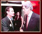 John H. (Jack) Hickey con el senador Bob Graham