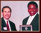 John (Jack) Hickey avec Kendrick Meek, Membre du Congrès