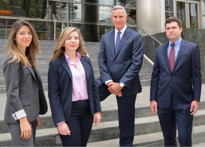 The attorneys at Hickey Law Firm in Miami