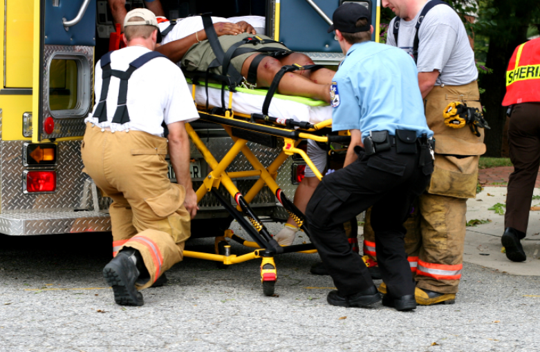 EMTs responding to the scene of an accident | Miami