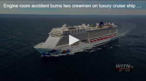 Cruise Ship Engine Room Accident Video