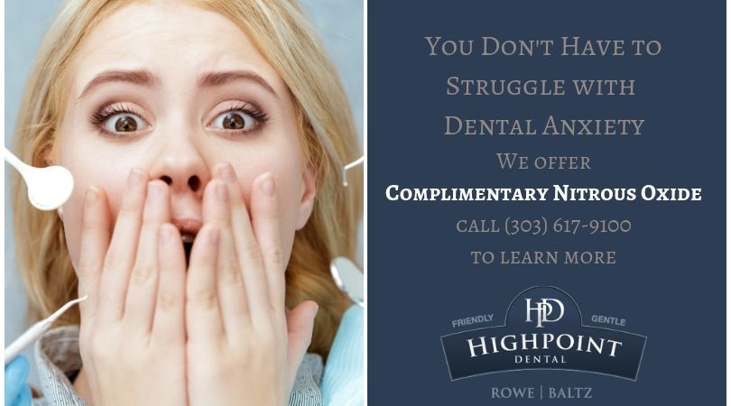 Free Nitrous Oxide in Aurora, Colorado CTA | Highpoint Dental Care