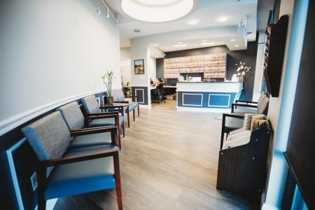 Lobby of HighPoint Dental office