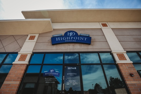 front entrance to Highpoint Dental Care