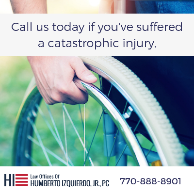 Call us today if you've suffered a catastrophic injury |  Humberto Izquierdo Law