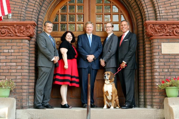 Partner and associate attorneys at Helton, Walter & Noelker
