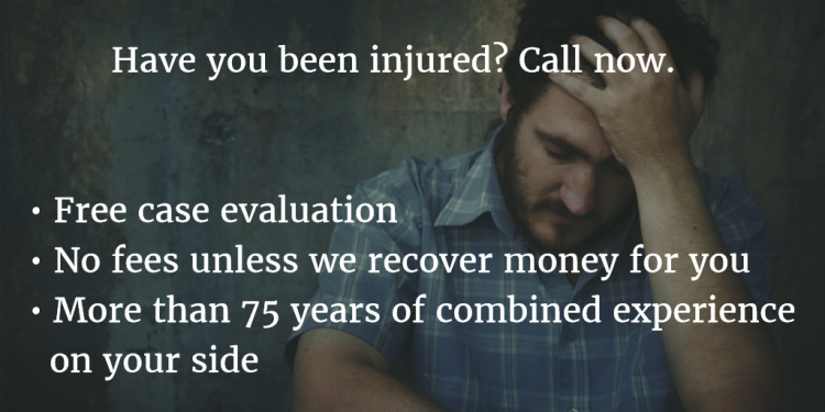 image describing benefits of calling a personal injury attorney