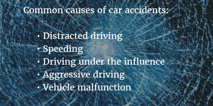 image listing 5 common causes of car accidents